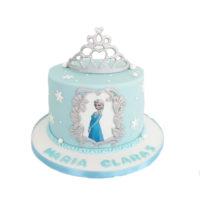 Ana cake with crown